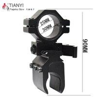 Tactical Quick Detach Weaver Mount Ring Picatinny Weaver 30mm To 20mm Rail Tube Flashlight Rifle Scope