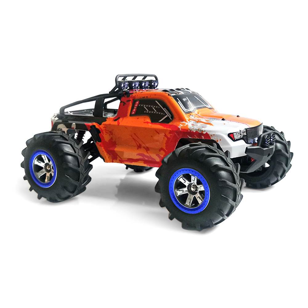 1:12 RC Off-Road RC Cars Amphibious Speed Truck 30km/H 2.4GHz Remote Control 4 Wheel Drive Strong Magnetic Carbon Brushed Motor