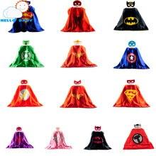 Мысы супергероя супергерой человек-паук супермен бэтмен плащ партии мальчиков маска костюмы
