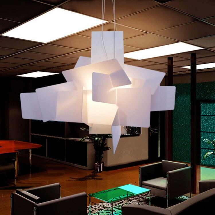 Lampada Big Bang Foscarini.Us 14 25 40 Di Sconto D65cm 95 Cm Moderno Foscarini Big Bang Impilabile Creativo Moderno Lampadario Illuminazione Di Arte Pandant Lampada Del