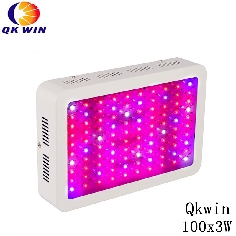 6PCS 300W LED plant Grow Light Full Spectrum 100x3W For Indoor Plants Flowering And Growing freeshipping цена