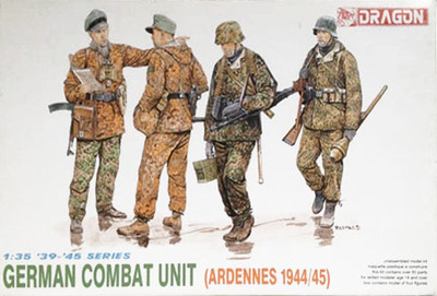 dragon 1 35 waffen ss ardennes 1944 45 6002 in model building kits
