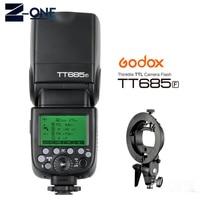 Godox TT685F 2.4G HSS 1/8000s TTL Camera Flash + Bowens Bracket for Fujifilm X Pro2/X Pro1/X T10/X T20/X T2 X T1/X100F X100T