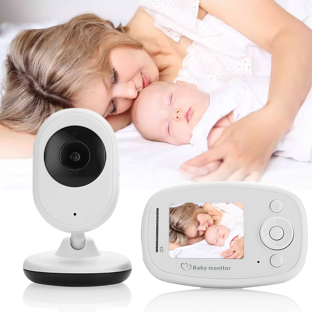 Hoomall 2.4inch LCD Sreen Sleep Baby Monitor Night Vision Camera Video Baby Care Wireless Video Baby Monitor Nanny SecurityHoomall 2.4inch LCD Sreen Sleep Baby Monitor Night Vision Camera Video Baby Care Wireless Video Baby Monitor Nanny Security