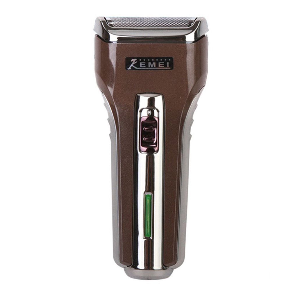 KM-A588 Portable Electric Shaver 3D Double Floating Rechargeable Beard Razor Reciprocating Shaver men Facial care Apparatus kemei men s electric shaver cordless rechargeable reciprocating razor wet and dry use beard trimmer men s face care tool km 2016