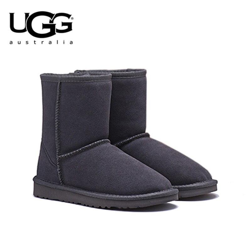 2019 Originale UGG STIVALI 5825 Delle Donne scarpe Stivali Invernali da neve uggs Classico delle Donne di Pelle Di Pecora a Breve Da Neve di Avvio ugs in australia stivali