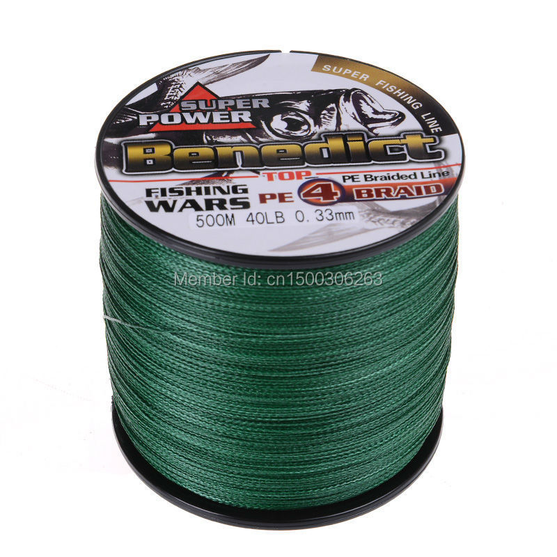 New moss green japan multifilament pe braided fishing line for 20 lb braided fishing line