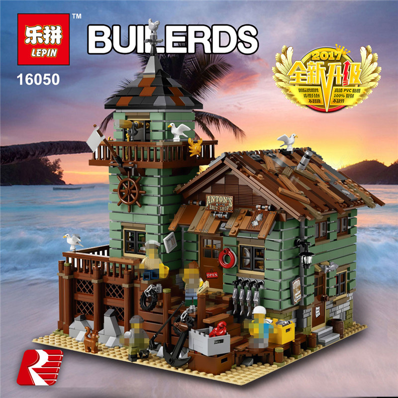 IN STOCK Lepin Building Blocks MOC Series The Old Finishing Store 16050 2109Pcs Children Educational Bricks Toys Model lepin 16050 the old finishing store set moc series 21310 building blocks bricks educational children diy toys christmas gift