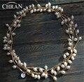 Chran Artigo Da Promoção! luxo Múltipla Camada de Água Doce Pearl Necklace Para Mulheres Chunky Declaração de Colar de Jóias de Noiva 150 cm