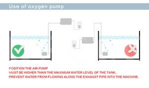 Image 4 - 450L/min 520W SUNSUN ACO 016 ACO016 Elektromagnetische Luft Kompressor luftpumpe für aquarium aquarium aquakultur