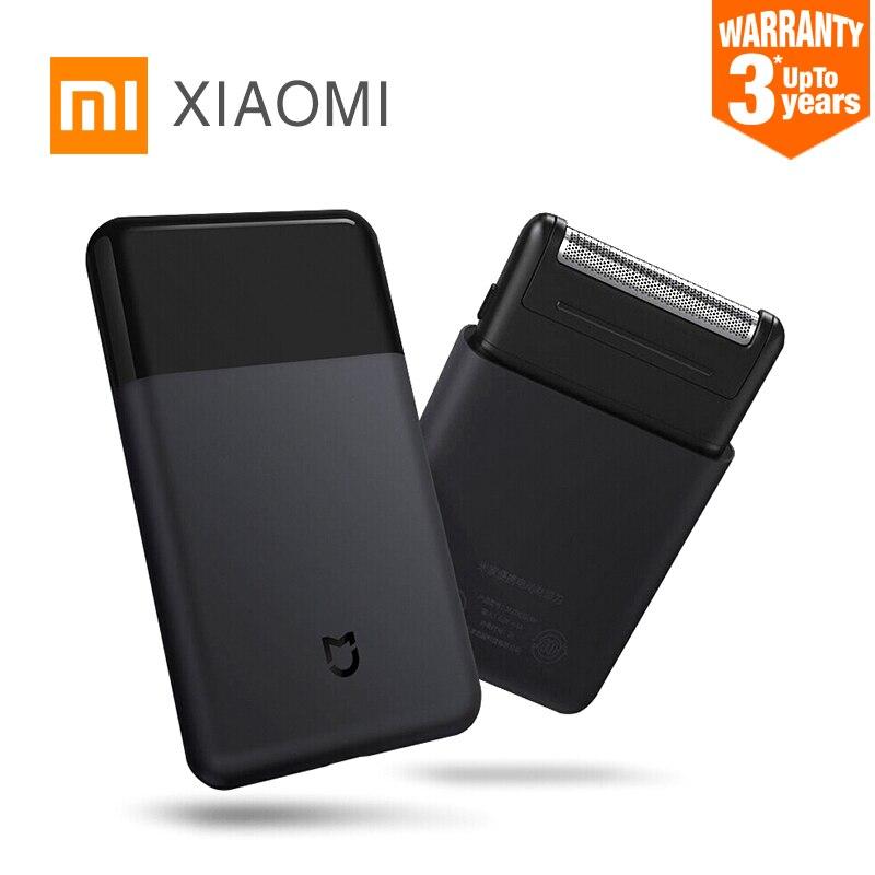 Original Xiaomi Afeitadora eléctrica para hombres inteligente Mini portátil de afeitar plenamente cuerpo de condensador de ajuste inalámbrico de afeitar para hombre Mijia