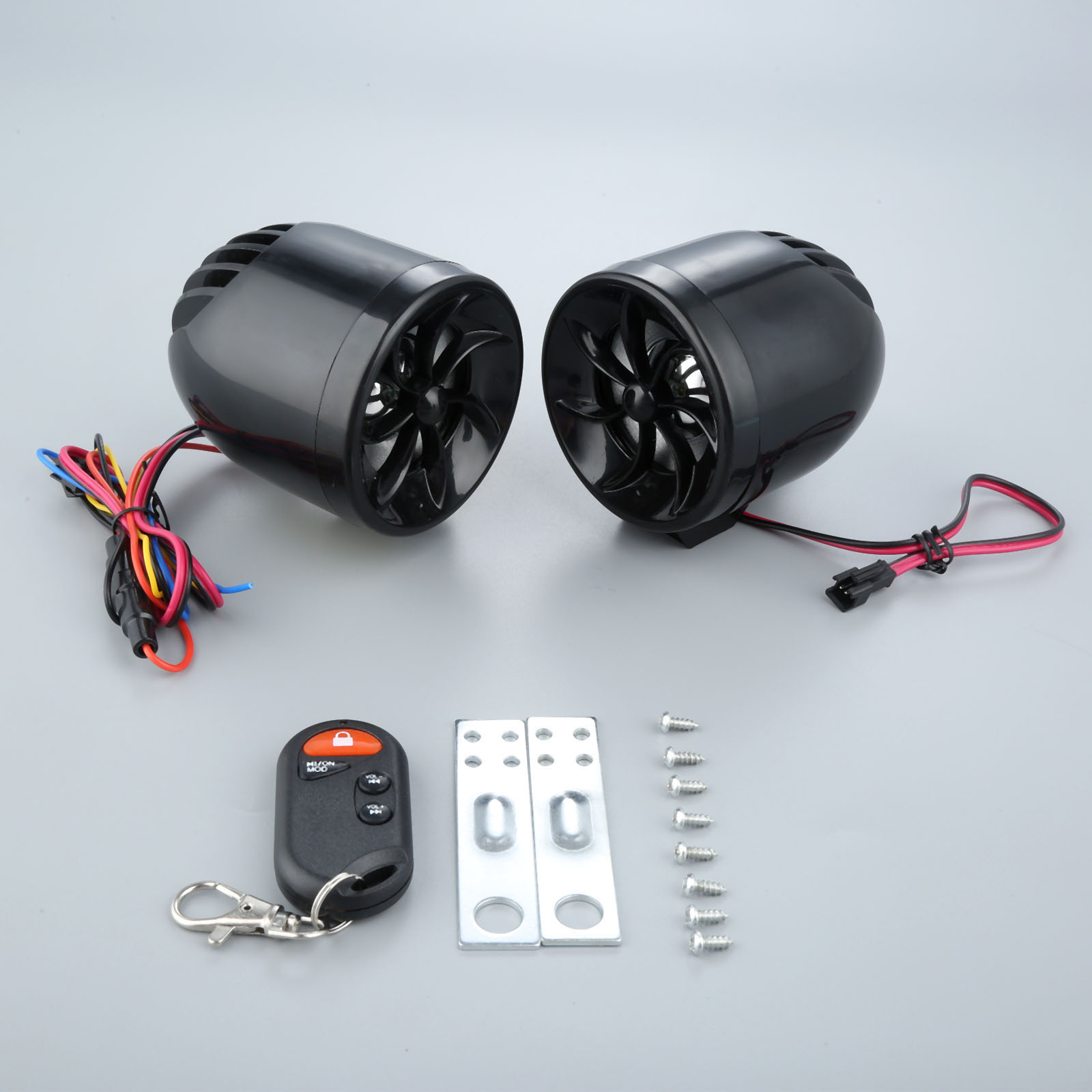 yetaha mt483 motorcycle audio external wiring mp3 player speaker anti theft protection support fm usb sd aux with voice prompts in theft protection from  [ 1600 x 1600 Pixel ]