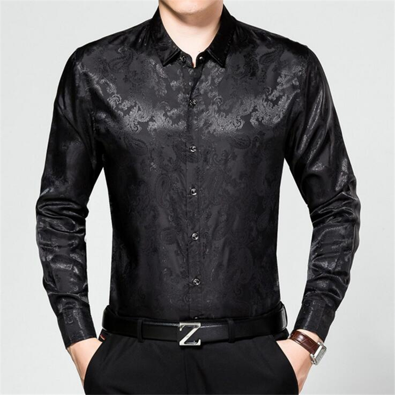 maomaoleyenda männer echte seide hemd hohe qualität bussiness - Herrenbekleidung - Foto 3