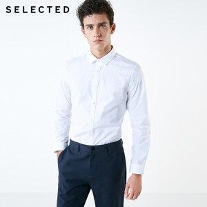 Image 2 - Camisa masculina selecionada 100% algodão reunindo pontos s