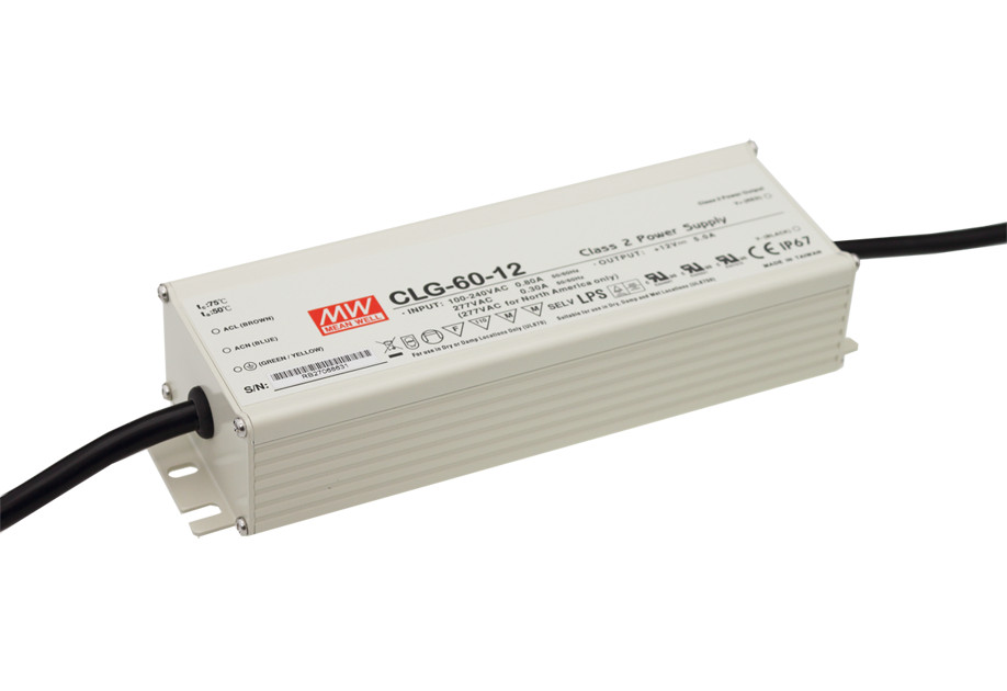 Original MEAN WELL 60W Single Output IP67 Constant Current LED Driver Switching Power Supply With PFC CLG-60 original mean well 60w single output ip67 constant current led driver switching power supply with pfc clg 60