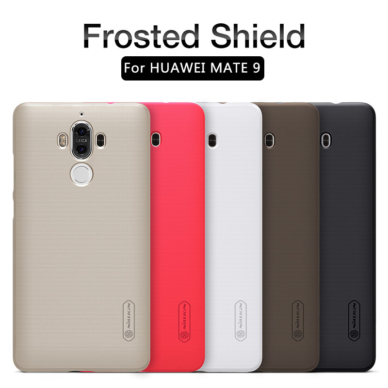 برای کیس Huawei Mate 9 مورد Nillkin Frosted Shield Hard Slim Mat Back Back Cover Huawei Mate9 5.9 اینچ