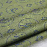 1 Yard 140cm Silk Fabric Chinese Style Brocade Jacquard Fabric For Men Chinese Packing Decorative Cloth Curtain Fabric