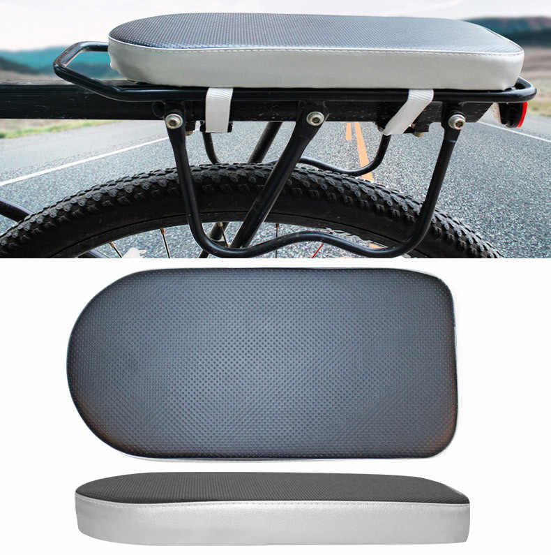 Comfortable Bike Bicycle Soft Cushion Seat Rear Rack for Adults Children Cycling Rear Rack Cushion Accessories	6.19