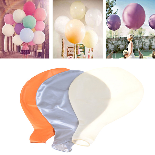 36 Inch Grote Ronde Latex Ballon Ballonnen Baby Verjaardagsfeestje