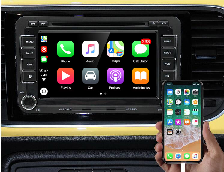 Apple Carplay Android-Navigation-Player Smart-Link for Mini-Usb with Auto Dongle