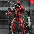 """7 """"19 см ПВХ Мстители Super Hero лига Справедливости X-MAN Дэдпул Фигурку игрушки Коллекция Модель Игрушки Рождество подарок"""