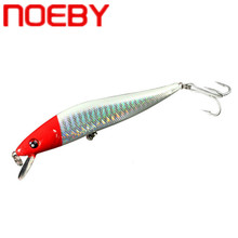 цена на NOEBY Minnow Fishing Bait 125mm 23g Floating Fishing Lures Hard Bait Diving 0-2m Isca De Pesca Artificial Wobbler Fishing Tackle