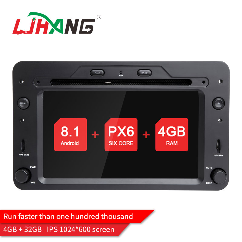 LJHANG 1 din Android 8.1 Car dvd player For Alfa Romeo Spider Alfa Romeo 159 Brera 159 Sportwagon GPS navigation stereo radio FM