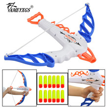 1set Teen Archery Crossbow Bow Soft Bullet Arrows Kit Children Team Game Competition Toy For Outdoor Shooting Training