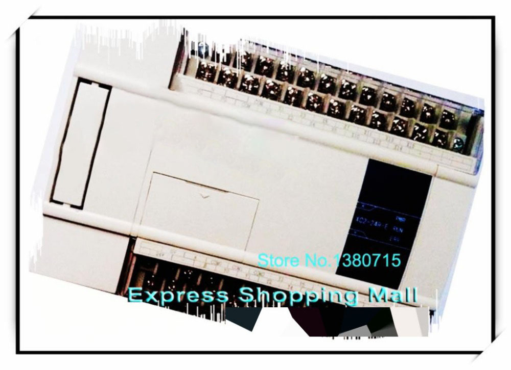 New Original 14point NPN input 10point relay output XC2-24R-E PLC AC220V стоимость