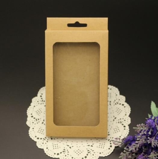 Joy phone case packaging paper box, cell box,mobile brown kraft box - Guang Zhou Chengxin Printing Co. Ltd. store