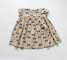 Baby Girls Dress Printed Oversize Clothes