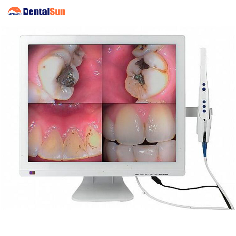 M 998(2 in 1) Intraoral Camera+Self contained 19inch LED Monitor