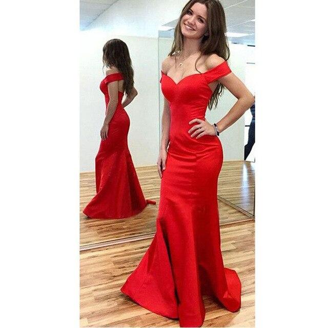 bf28015e5d Amor de la manera de Manga Corta Cuello Sirena Vestidos de dama de Honor  Barato Fuera