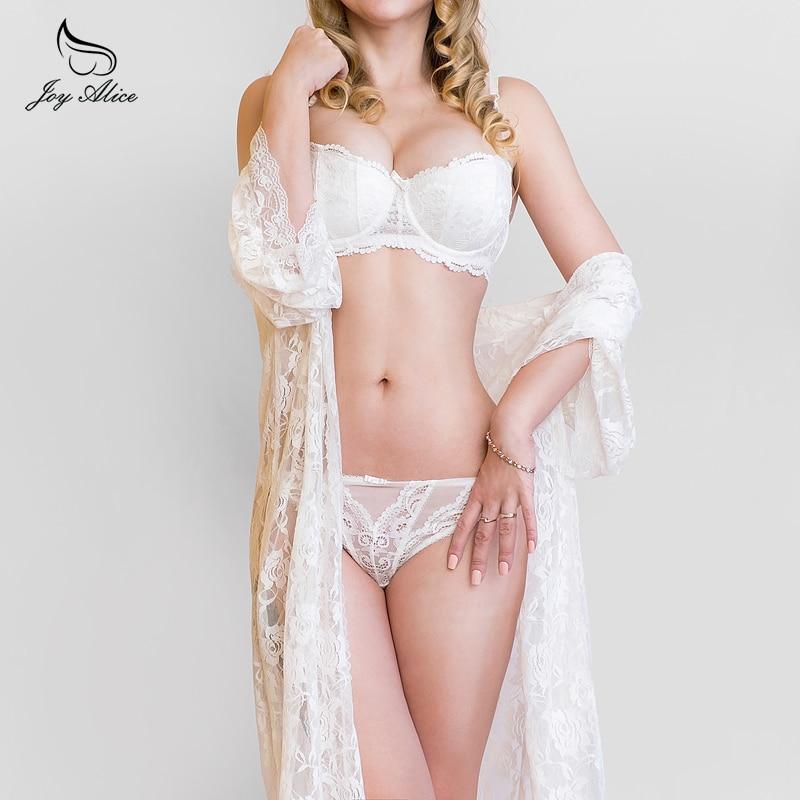c98329ecec Bra+Panties+Garter 2018 New Arrival Suspenders Lace Bra Set panties women s  Underwear Set Bra   brief Sets belt Set lingerie