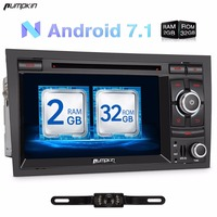 Pumpkin 2 Din 7 Android 7 1 Car DVD Player Quad Core GPS Navigation Car Stereo