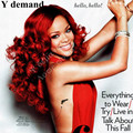 Afro Rihanna 1B/red Two Tone wig hairstyles long red wavy wig silky long synthetic lace front wig