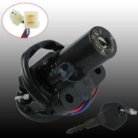 Motorcycle Ignition Switch Lock Key For YAMAHA YZF R6S 2006 2009 07 08