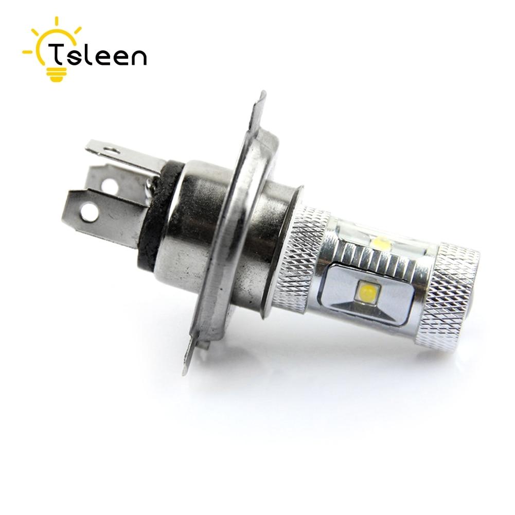 Cheap 720-1000LM H7 H11 H13 9005/HB3 H4 Car Bulbs 12-24V Led Headlight Kits Dipped Beam High Beam CREE Chips Auto Fog Lamps xencn h7 9005 hb3 9006 hb4 hi lo beam h4 led car bulbs 6000k csp chips 52w headlight kits auto h8 h9 h11 led 9012 fog lamps