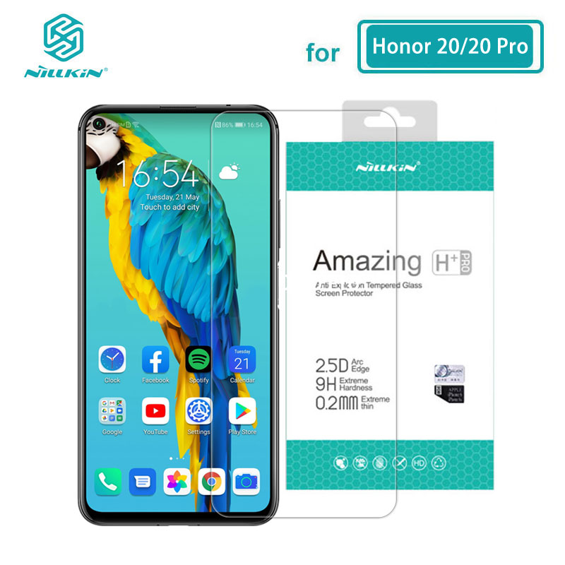 Huawei Honor 20 Tempered Glass Nillkin H+Pro 0.2MM 2.5D Arc Screen Protector Glass For Huawei Honor20 Honor 20 Pro 20S Nova 5T