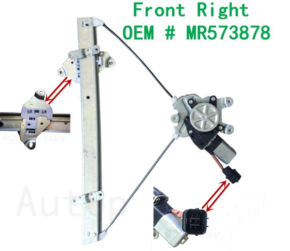 4//5 Doors Polo Window Regulator Mechanism Front Left//NSF OEM QUALITY