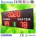 Leeman цифровой номер из светодиодов баскетбол хоккей каток площадь крикет табло дисплей цифровой табло с выстрел часы