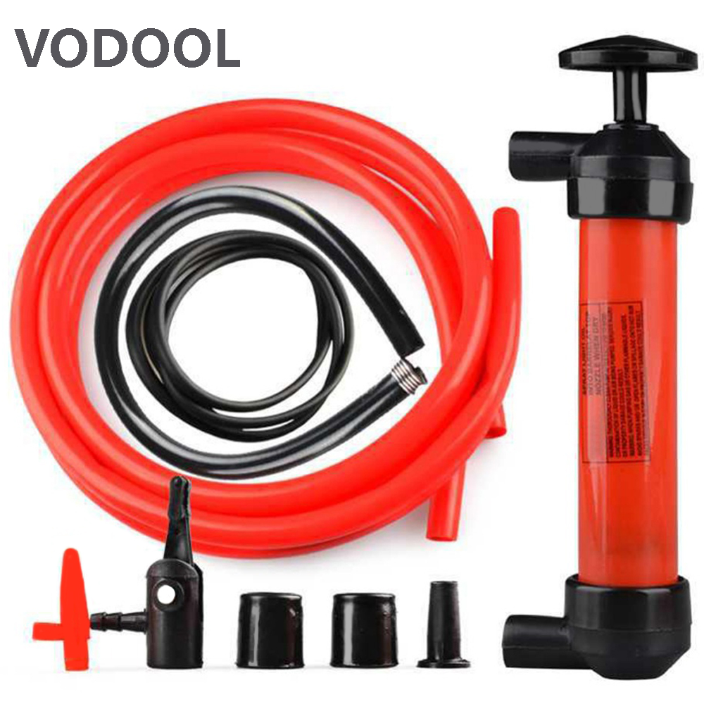 Oil Pump For Pumping Oil Gas For Siphon SuckerTransfer Manual Hand Pump For Oil Liquid Water Chemical Transfer Pump Car-styling