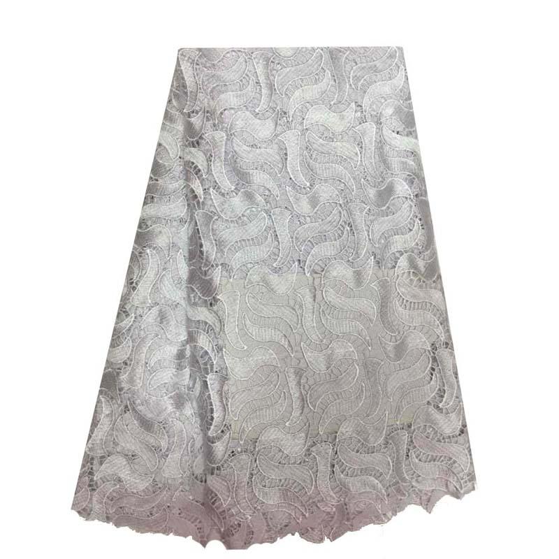 ᐂAfricano cordón francés del bordado de la tela del envío libre ...