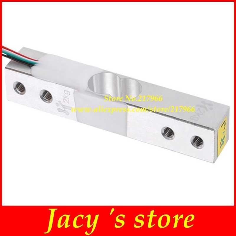 Capteur de poids de cellule de charge 1 KG 5 KG 10 KG 20 KG HX711 Module balance électronique capteur de pression de pesage en alliage d'aluminium
