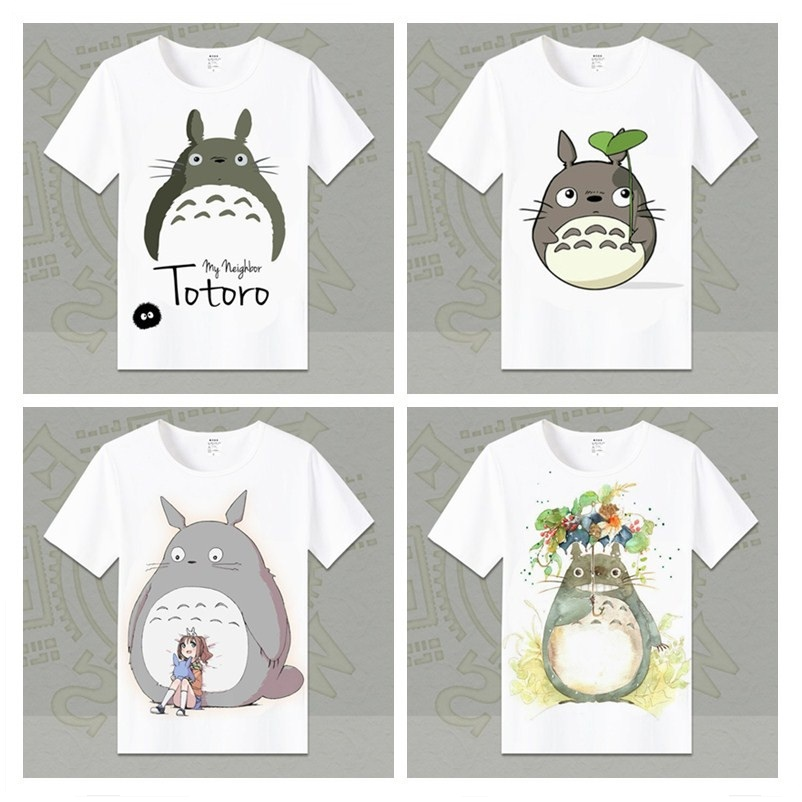 My Neighbor Totoro T Shirts Unisex Short Sleeved Men/Women T-Shirt Fashion Top Tees Casual Tshirts