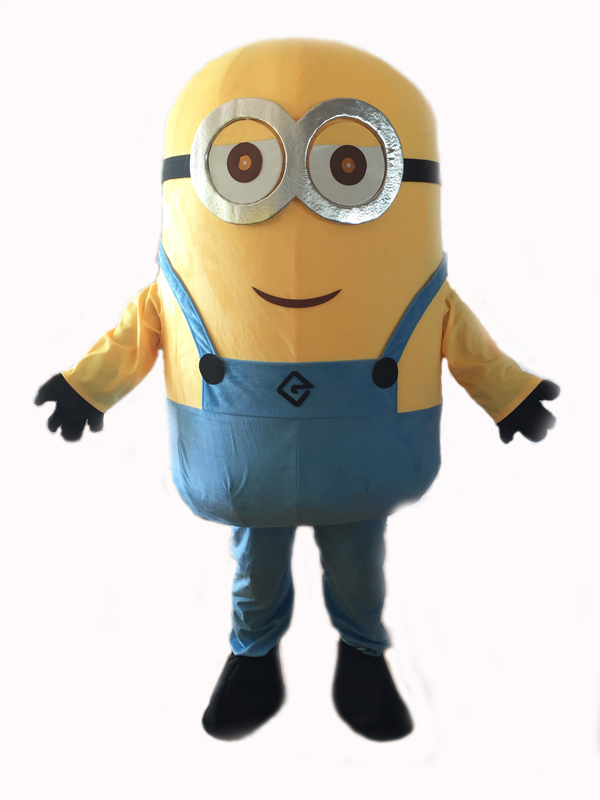 Nouveau 14 Costumes de tenue d'halloween costume méprisable costume de mascotte de minion pour adultes costume de mascotte de minion