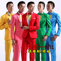 Fashion Chinese Chopsticks Brothers suit 5 colors small apple male singer nightclub stage costumes Men Artist studio blazers