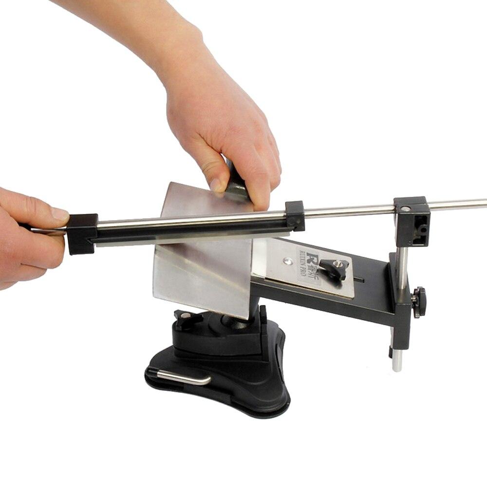Image 3 - Upgraded Version Fixed angle Knife Sharpener Professional Kitchen  Knife Sharpener Kits System 4 Sharpening StonesSharpeners   -