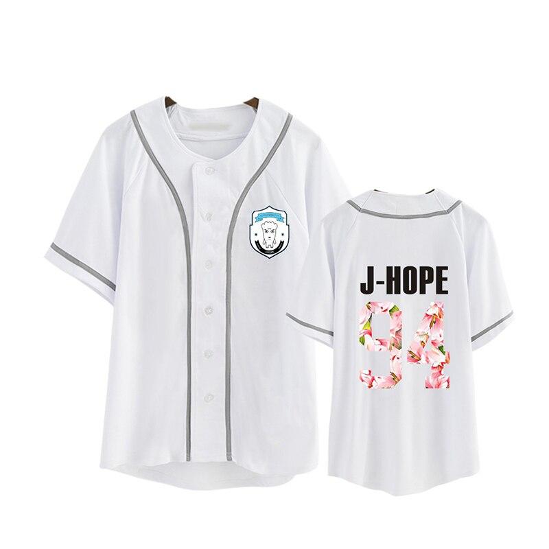 KPOP Coréen Mode BTS 2ème Album AILES Bangtan Garçons HipHop Monstre Coton T-shirt K-POP T Chemises T-shirt PT250
