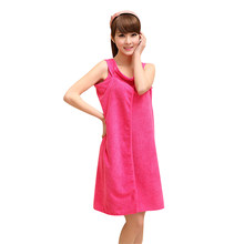 e672571893 Microfiber Women Sexy Bath Towel Wearable Beach Towel Soft Beach Wrap Skirt Super  Absorbent Bath Gown